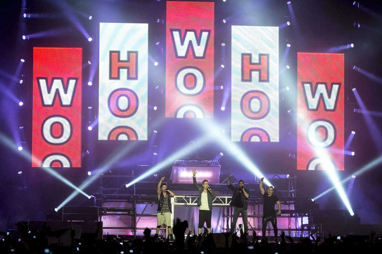 ¡Gran party con Big Time Rush en el Palacio de los Deportes del DF!