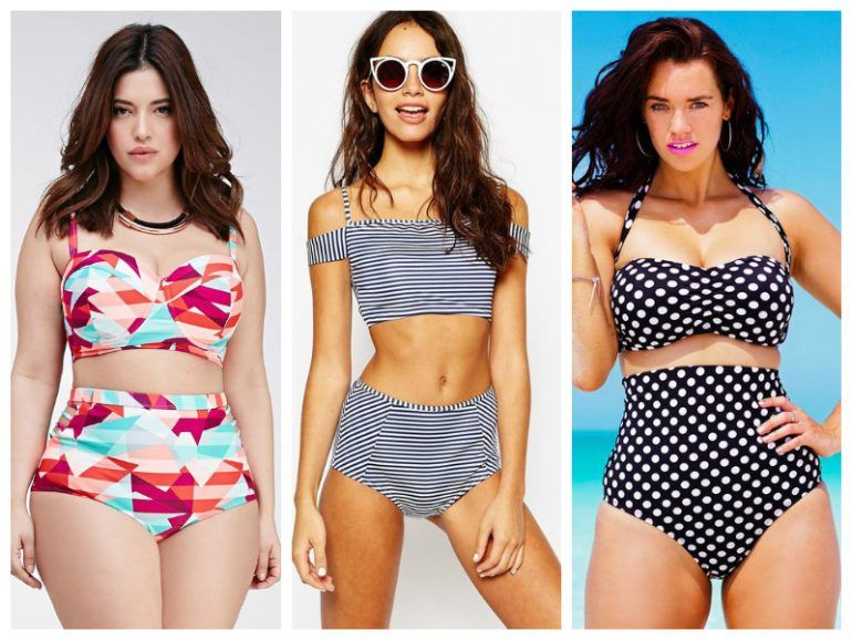 ¡Los bikinis high waisted más cool para lucir en la playa!