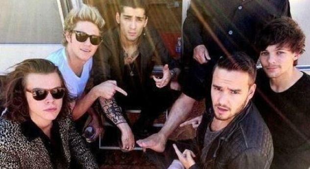 12 momentos en la grabación del nuevo video de One Direction: Steal My Girl