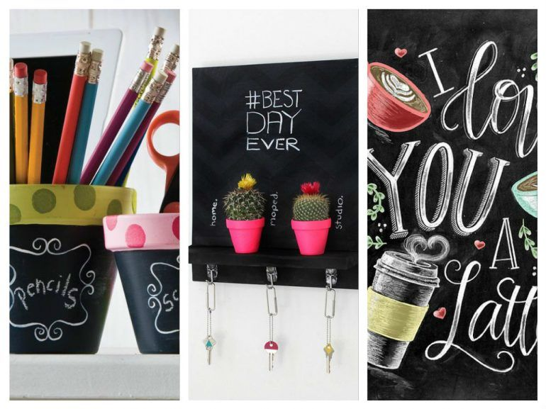 15 Ideas para decorar tu blackboard