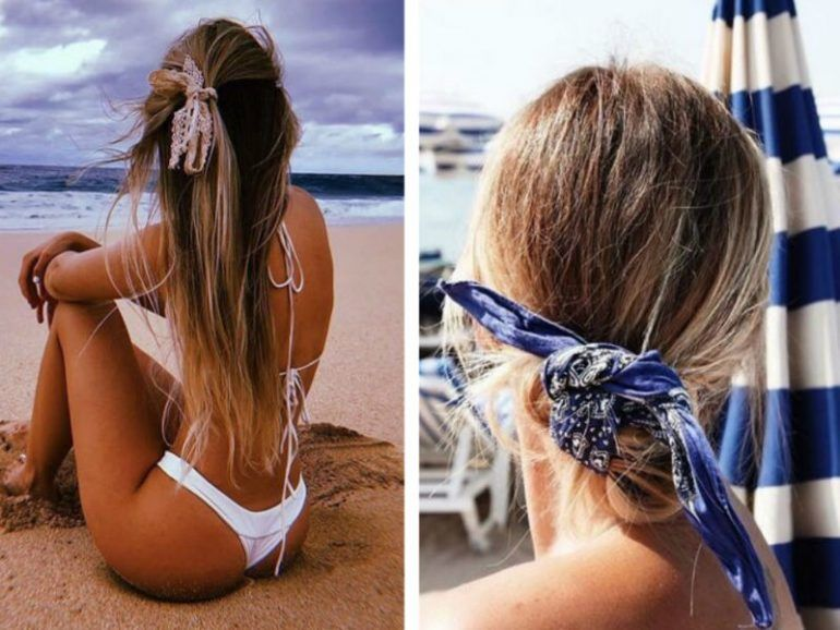 16 Hairstyles ideales para la playa