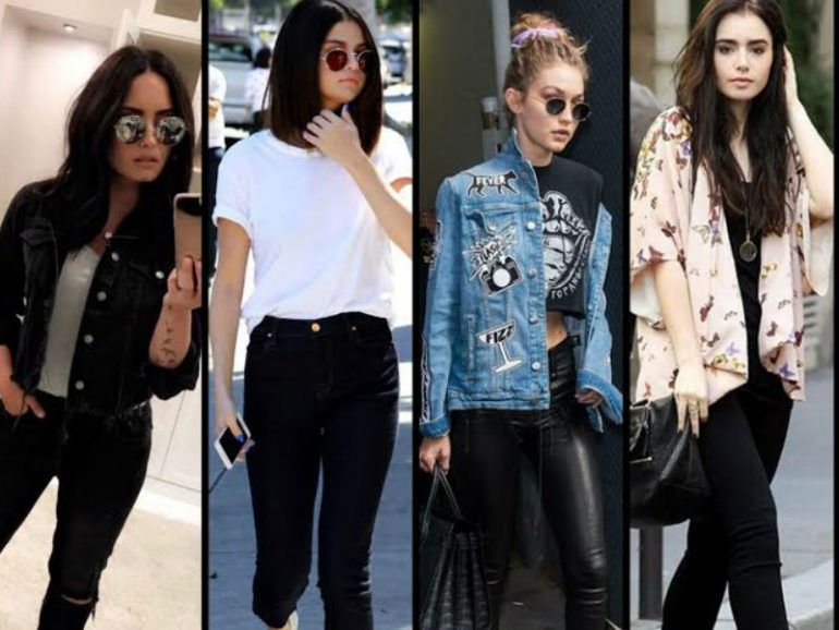 6 Outfits para rockear tus jeans negros
