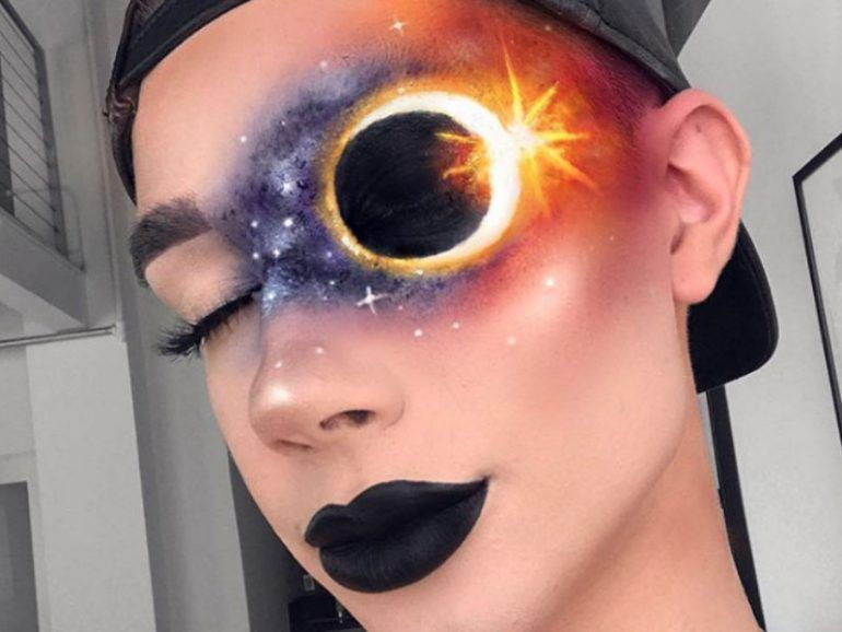 Beauty looks inspirados en el eclipse solar