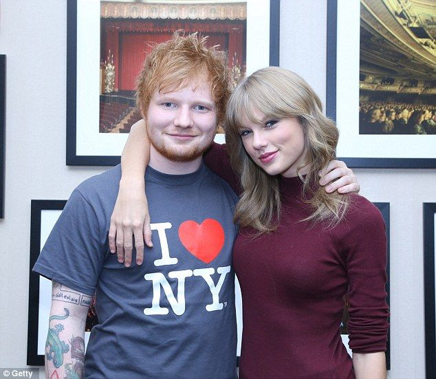 Bronca entre Taylor Swift y Ed Sheeran