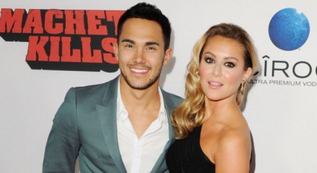Carlos Pena y Alexa Vega ¡superenamorados en la premiere de la movie Machete Kills!