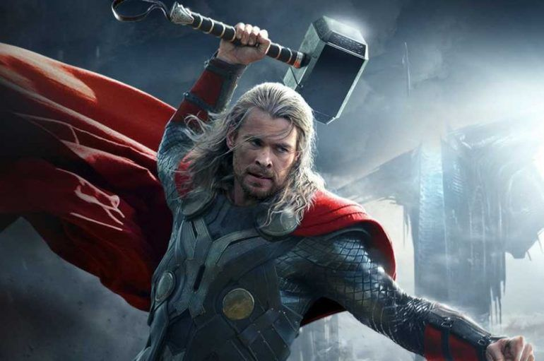 Chris Hemsworth nos enseñó el set de la tercera peli de Thor