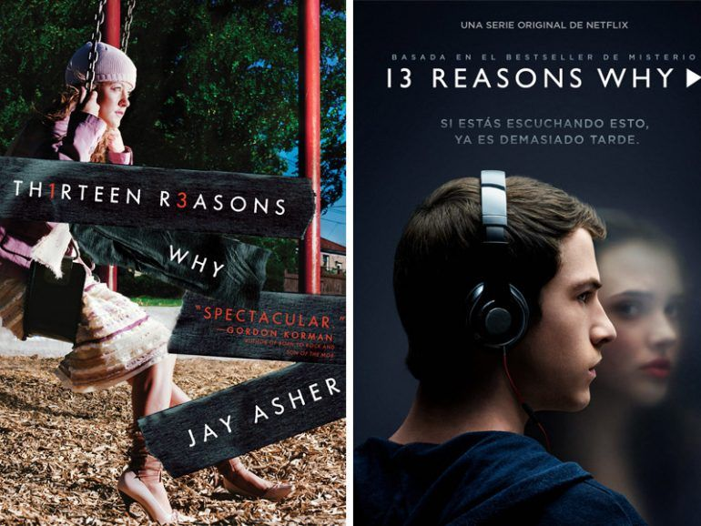 "Diferencias entre la serie ""13 Reasons Why"" y el libro"