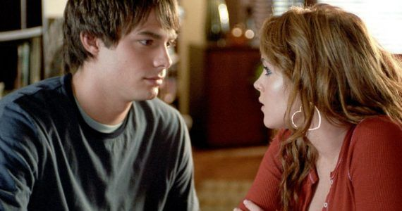 cady heron y aaron sammuels de mean girls