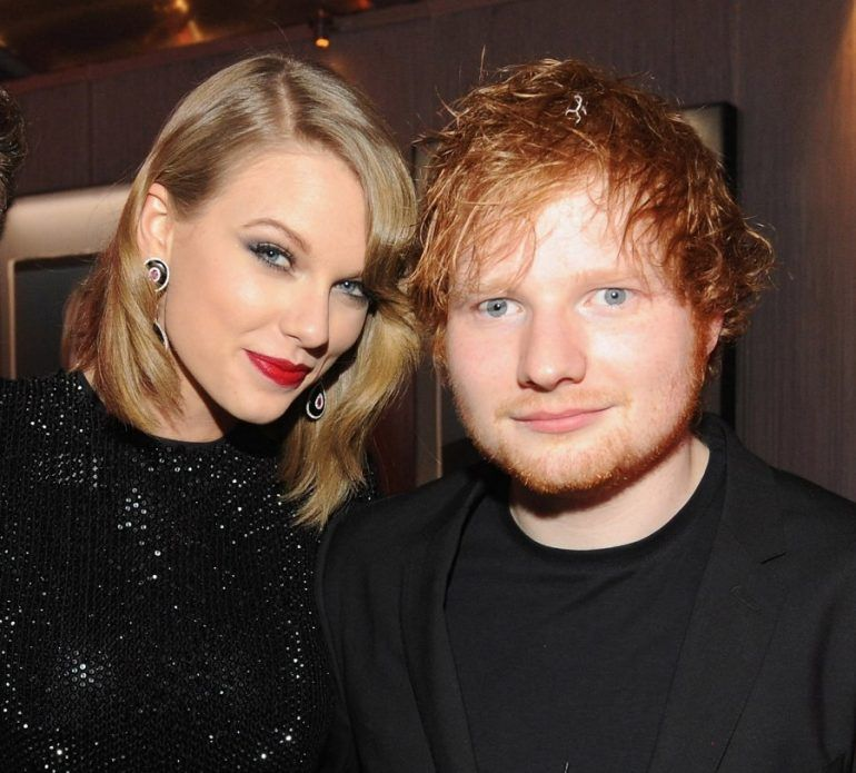 Ed Sheeran quiere que Taylor Swift salga con Orlando Bloom