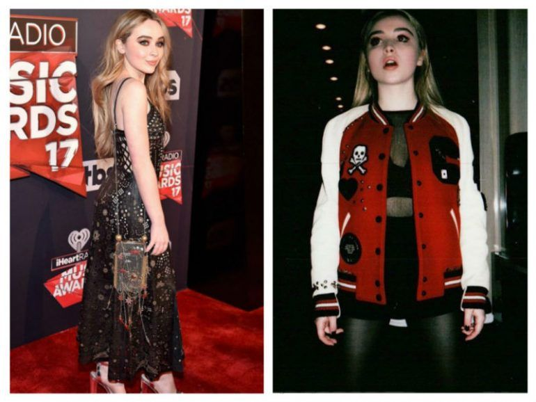 El estilo rocker y fashion de Sabrina Carpenter