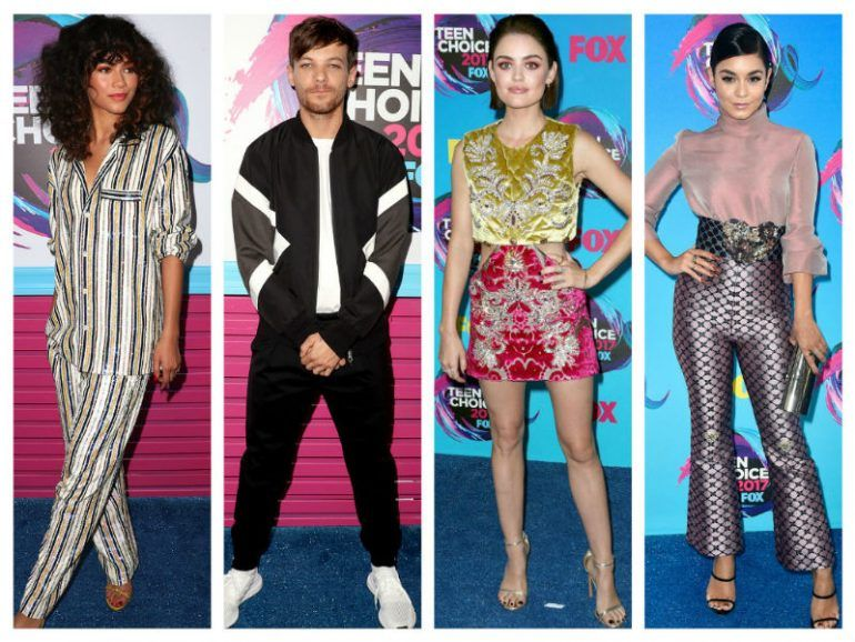 El glamour de la Blue Carpet de los Teen Choice Awards 2017