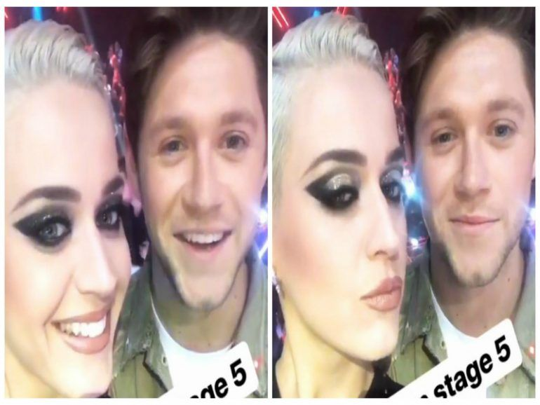 El ligue entre Katy Perry y Niall Horan está súper hot