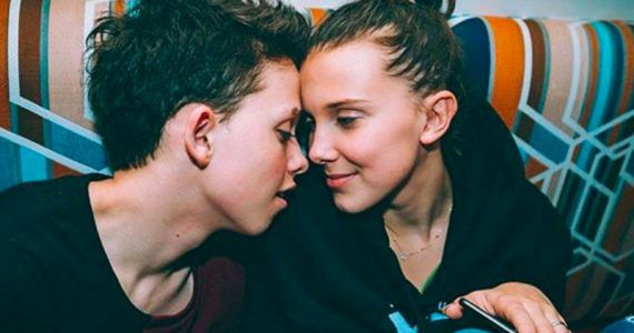millie bobby brown y jacob sartorius