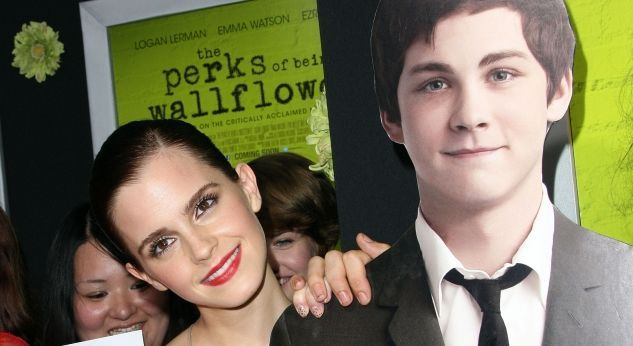 Emma Watson en la premiere de la peli The Perks of Being a Wallflower