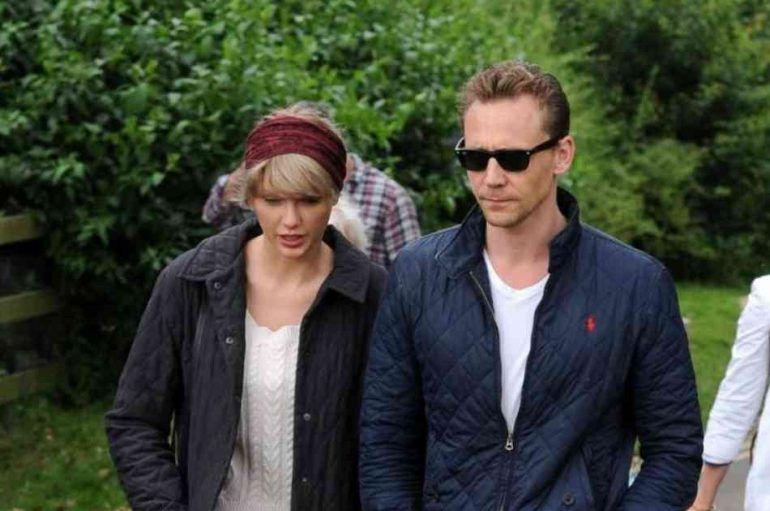 Esta es la primera foto de Taylor Swift y Tom Hiddleston en Instagram