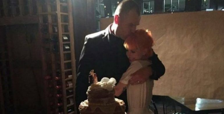 Hayley Williams se casó con el amor de su vida Chad Gilbert