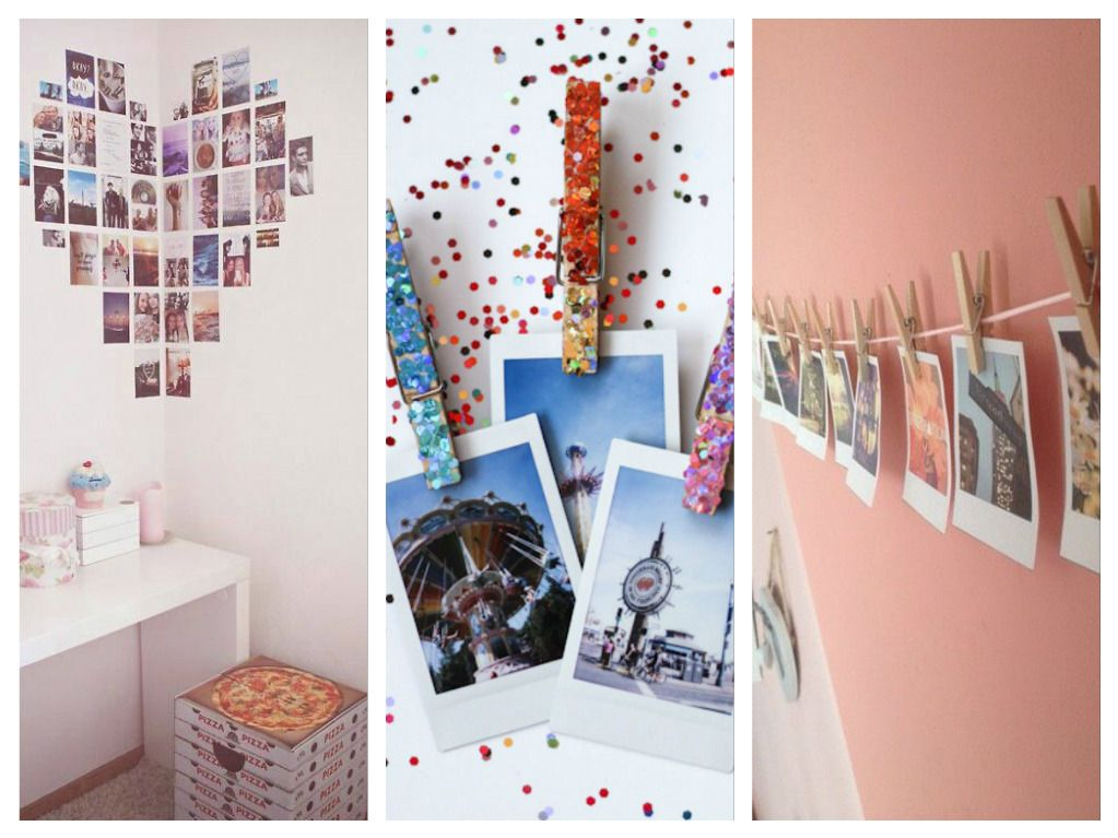 Ideas para decorar tu cuarto con fotos tu en l nea - Como decorar mis fotos ...
