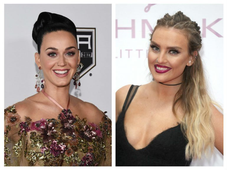 Katy Perry y Perrie Edwards