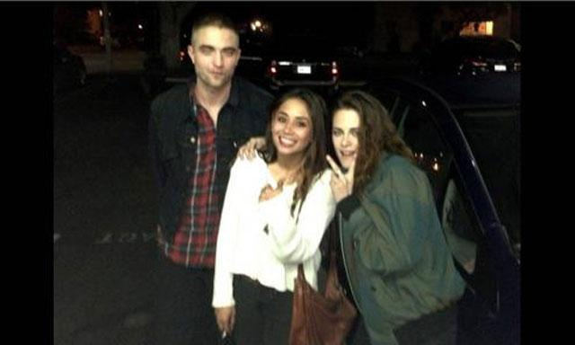 Kristen Stewart y Robert Pattinson en el cumple de Tamra Natisin