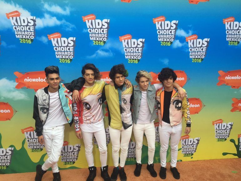 La Orange Carpet de los Kids Choice Awards México 2016