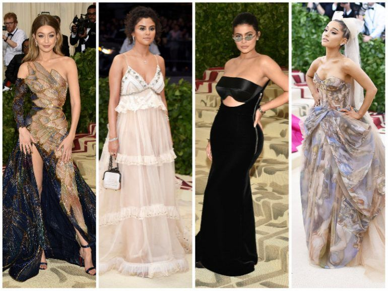 La red carpet de la Met Gala 2018
