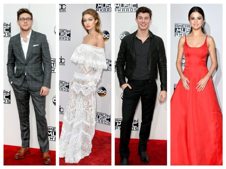 La red carpet de los American Music Awards 2016