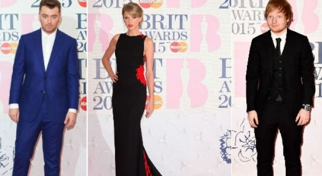 La red carpet de los Brit Awards 2015