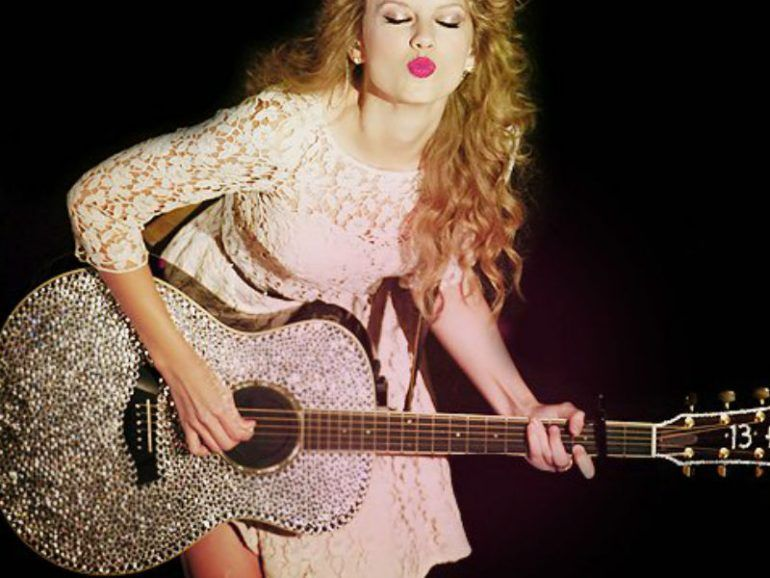Las guitarras más cool de Taylor Swift