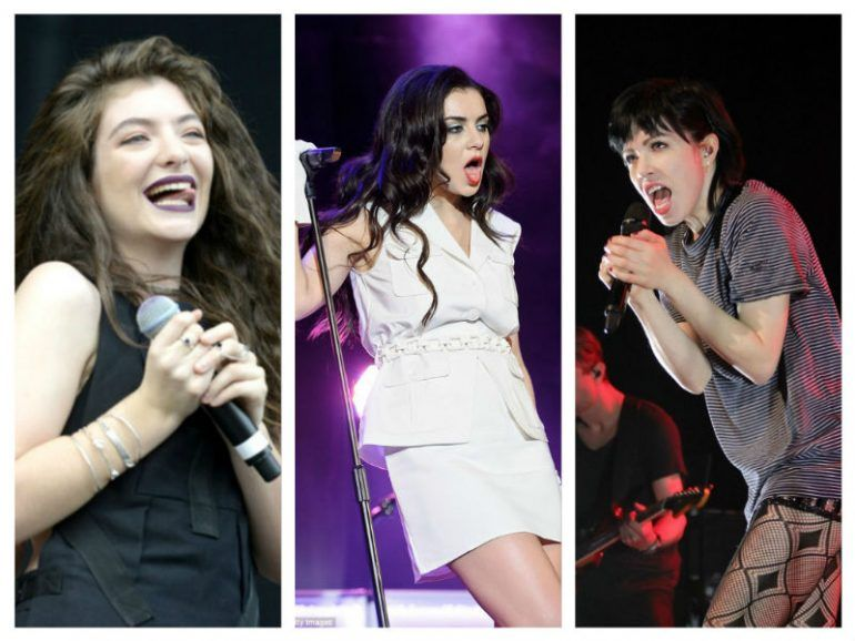 Lorde quiere formar una girl band con Charli XCX y Carly Rae Jepsen