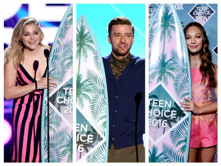 Los ganadores de los Teen Choice Awards 2016