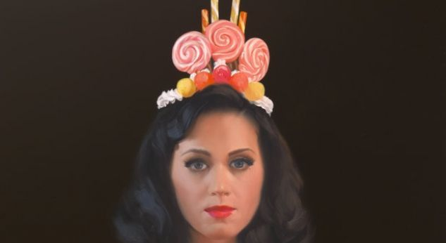 Maravilloso retrato de Katy Perry