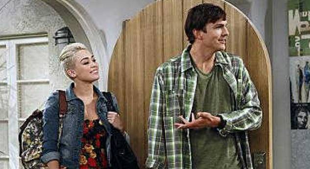Miley Cyrus en Two and a Half men