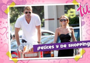 Miley Cyrus y Liam Hemsworth se ven ¡felices!