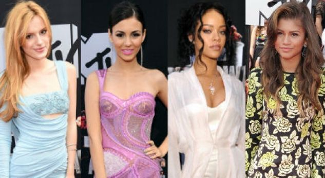 Moda y belleza en la red carpet de los MTV Movie Awards 2014