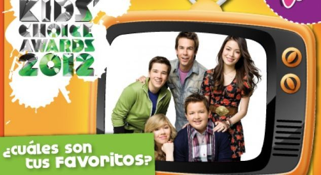 Nominados Kids Choice Awards 2012