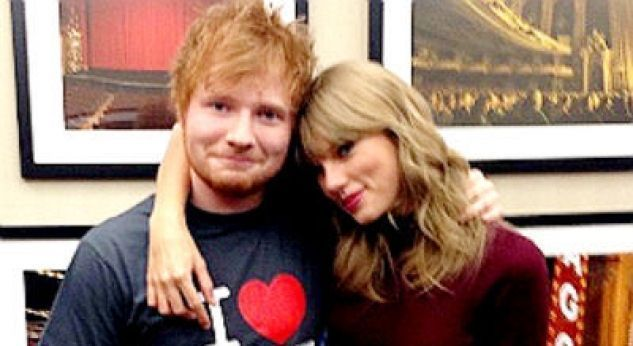 OMG! Taylor Swift y Ed Sheeran ¡se esconden de la policía!