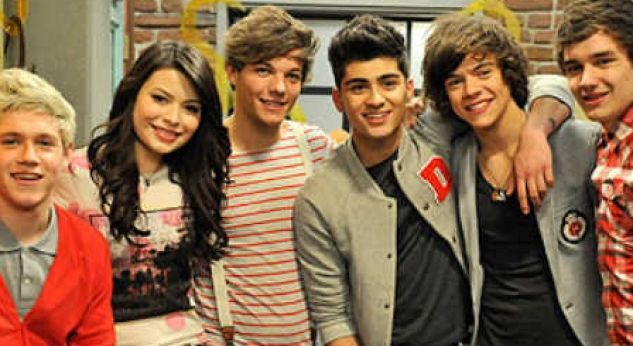 One Direction en iCarly