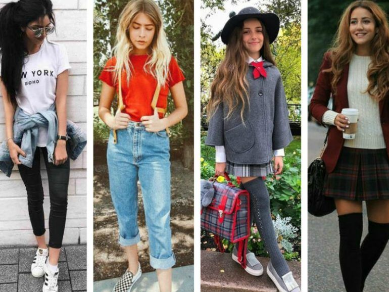 Outfits ideales para este regreso a clases