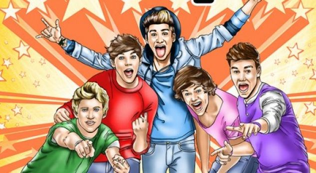Seguna parte del cómic FAME de One Direction