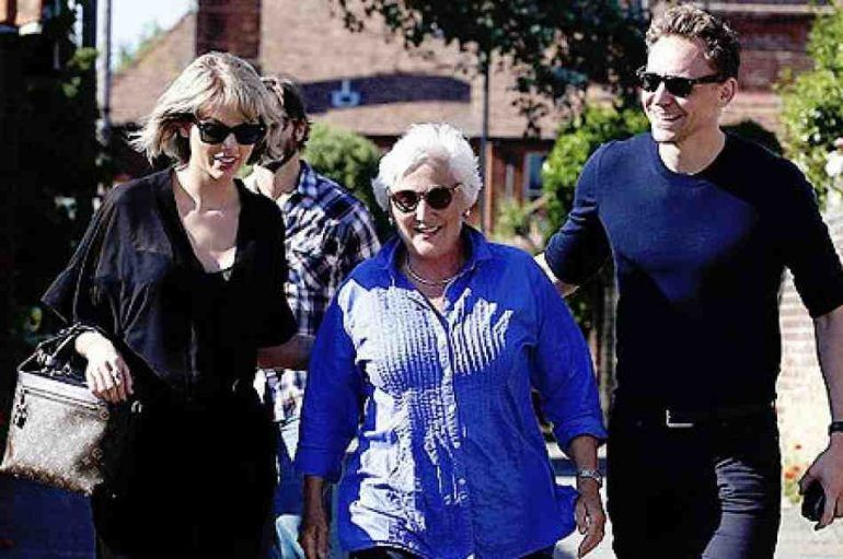 Taylor Swift conquistó a los padres de Tom Hiddleston