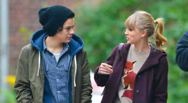 Taylor Swift dedicará canciones a Harry Styles