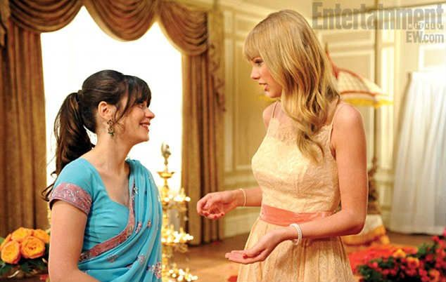 Taylor Swift en la serie New Girl