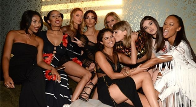 Taylor Swift festejó con sus BFF en el afterparty de los VMAs 2015