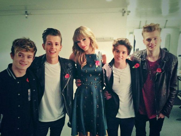 Taylor Swift y The Vamps