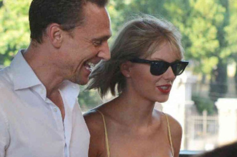 Taylor Swift y Tom Hiddleston hacen match con sus outfits
